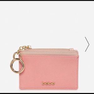 Bebe Karina Credit Card Case pink & gold
